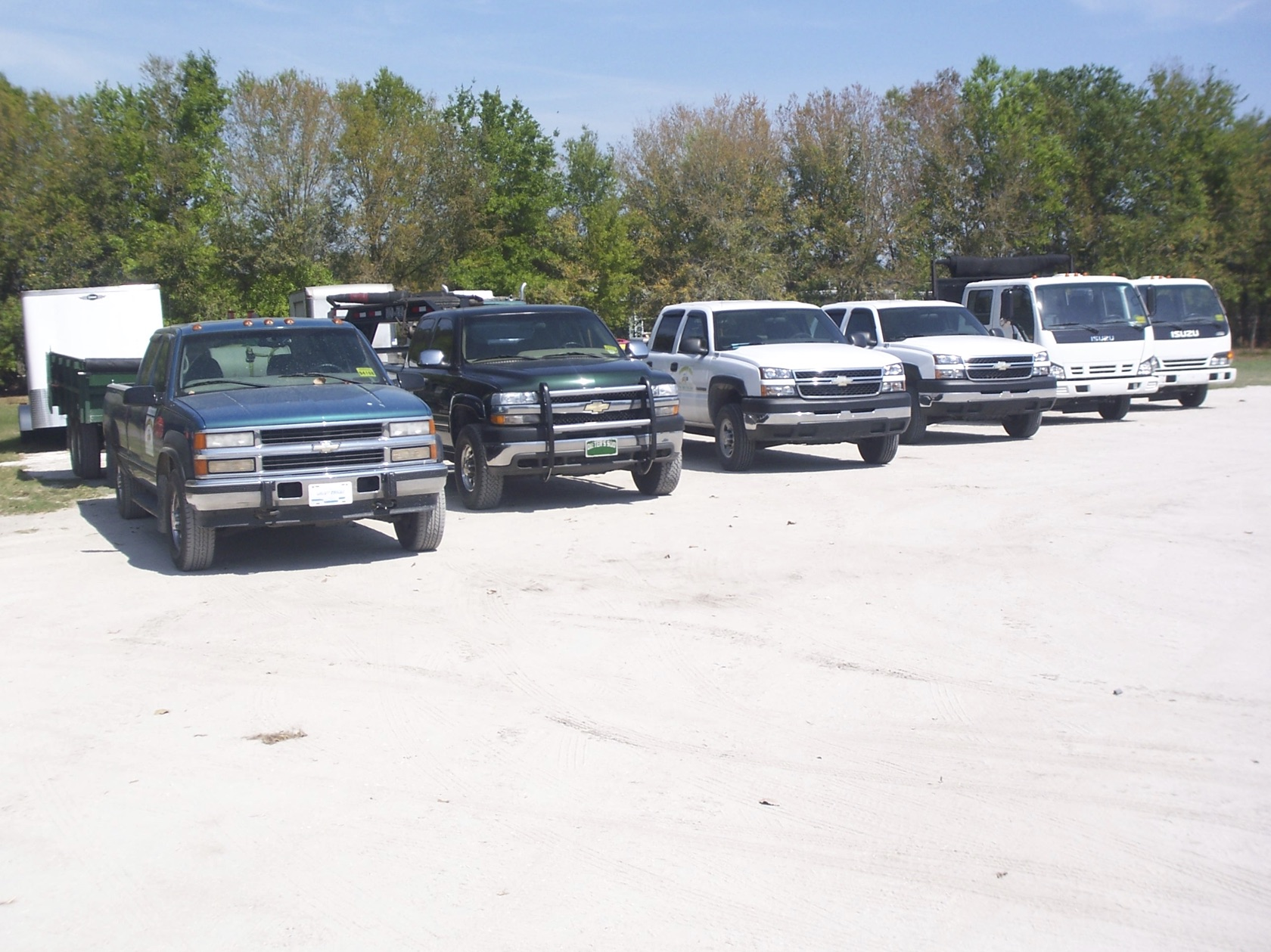 Group Pick up trucks